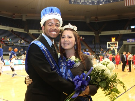2014 UNO Homecoming King and Queen