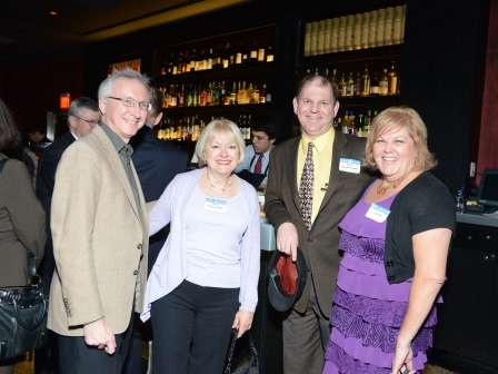 Deans Madere and Krueger and spouses at 2013 Alumni Annual Soiree