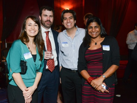 Jessica Tingstrom, Riley Parker, Jose Suarez and Aravinda Parker