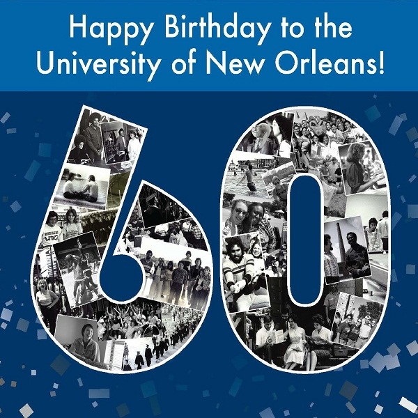 Happy Birthday to the University of New Orleans!
