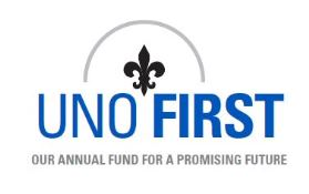 UNO First: Annual Fund for a Promising Future